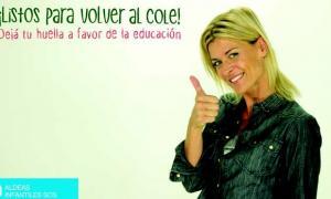 La actriz Eugenia Tobal colabora con Aldeas Infantiles SOS