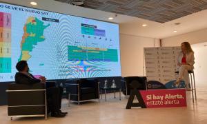 Fenómenos meteorológicos: Presentaron nuevo Sistema de Alerta Temprana