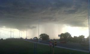 Rige el alerta por tormentas en la Provincia.
