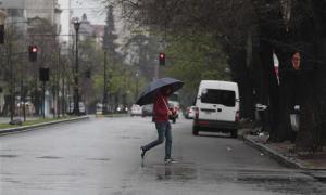 En la ciudad de La Plata rige el alerta meteorológico.
