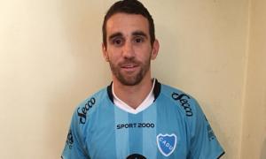 Franzoia con la camiseta de CADU. Foto: Miguel Ángel Zárate.