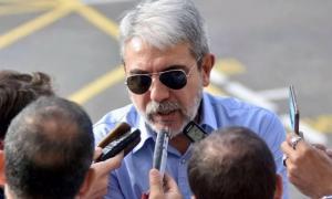 El ex candidato a gobernador de Cristina llegó a Plaza de Mayo.