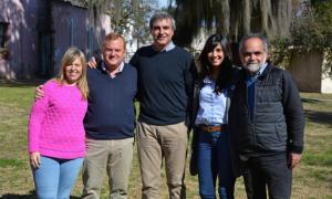 Marta Papaleo, Nicolas Marinkovic, Francisco 'Paco' Durañona, Ana Laura Fuentes y Mariano Pinedo