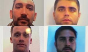Se trata deRodrigo Matías Catalán, Federico Eslejer, Gabriel Alejandro Pardo, yLeonardo Daniel Elía.