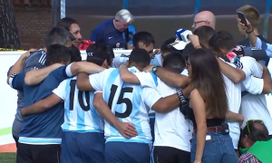 Los Murciélagos jugarán la final del Mundial. Foto: Captura de pantalla transmisión oficial.