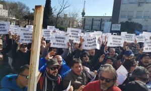 Trabajadores del Astillero Río Santiago vuelven a movilizarse este martes