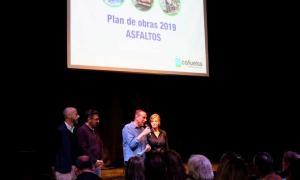 Arrieta anunció el plan de asfalto para Cañuelas por $69 millones