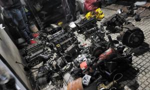 La Matanza: Gendarmería incautó 200 autopartes ilegales