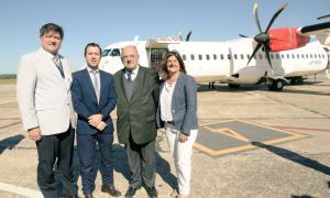 Arribó el primer vuelo de Avianca a Mar del Plata