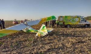Pergamino: Falleció el piloto que cayó cuando volaba una avioneta