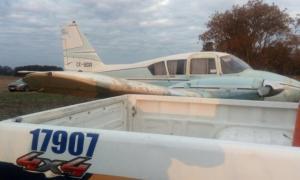 La avioneta fue hallada en San Andrés de GIles.