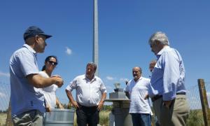 Elustondo recorrió instalaciones de la Unicen en Azul