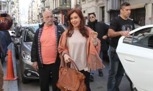Cristina Fernández se quedó en Buenos Aires. Foto: Clarín