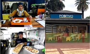 San Isidro: Abrió bar inclusivo atendido por personas con discapacidad
