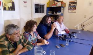 Baradel calentó la previa de la reunión del miércoles con la Provincia. Foto: ExtraNews