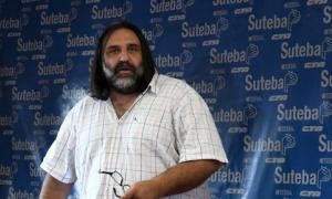 Roberto Baradel cuestionó la relación de los docentes con Cambiemos