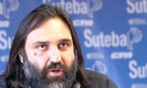 Roberto Baradel aclaró que pedirán la recomposición salarial