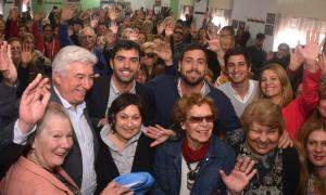 Delfino, Ocaña y Basavilbaso se reunieron con más de 300 Jubilados de Hurlingham