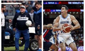 Villegas se podría perder la final del Mundial de Básquet y el debut de Maradona
