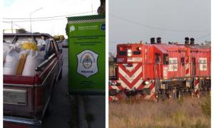 El hecho fue a la formaciónde la empresa Ferro Expreso Pampeano. Foto: Prensa