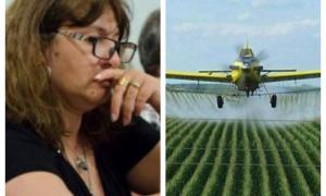 La edil de Unidad Ciudadana exige que se aplique la ordenanza que regula el uso de agroquímicos en Lincoln. Foto: Prensa