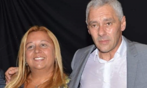 Vanesa Queyffer y Fabián Cagliardi (Facebook)