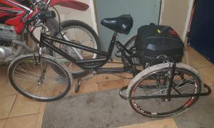 La bicicleta fue robada a un joven con discapacidad motriz. Foto: Prensa
