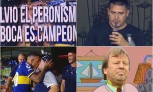 Boca campeón de la Superliga: El mate de Riquelme, memes y perlitas