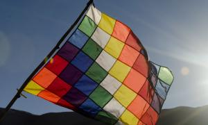 La Whipala es la bandera de los pueblos originarios