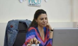 La Presidenta del Concejo DeliberanteLaura Branchini