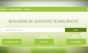 """El portal del """"Buscador de servicios tecnológicos"""""""
