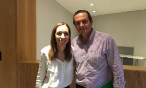 El intendente de Dolores admitió que tiene aspiraciones a ocupar el sillón de Vidal. Foto: Prensa