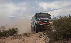 Villagra está cumpliendo un gran trabajo en esta edición del Dakar.