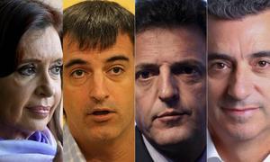 Cristina, Bullrich, Massa y Randazzo serán candidatos.