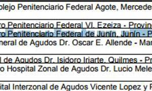 El pasaje del Presupuesto en el que figura la construcción de una cárcel en Junín. Foto: Diario Democracia.