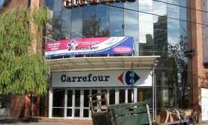 El hecho se produjo en el Carrefour ubicado en Lavalle y Humberto Primo