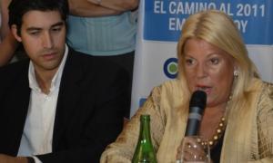 Elisa Carrió lamenta la partida de Adrián Pérez al Frente Renovador.