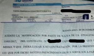 Despidos en Atucha. Foto: Enlace Crítico