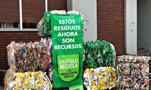 Castelli: Ya llevan más de 125.000 kilos de residuos recuperados