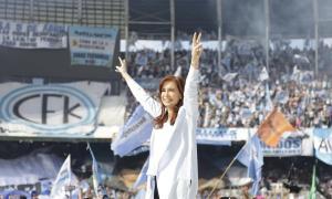"""""""Evita votaría a Cristina, Peróna Taiana, y los dos juntos a Unidad Ciudadana"""". Foto: @CFKArgentina"""