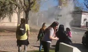 Crimen de Navila Garay: Hubo incidentes en la comisaría de Chascomús (FM Volver)