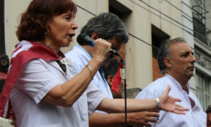 La presidenta de CICOP, Marta Márquez
