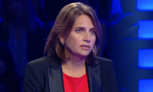 """Marina Simian en """"¿Quién quiere ser millonario?""""."""