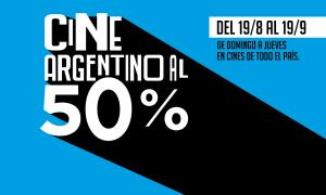 Mes del Cine argentino: De domingo a jueves proyectan películas nacionales al 50%