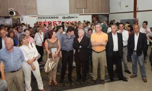 Dirigentes de distintos partidos apoyaron la candidatura de Posse a la gobernación.