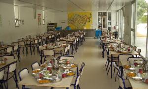 Comedores escolares en crisis.