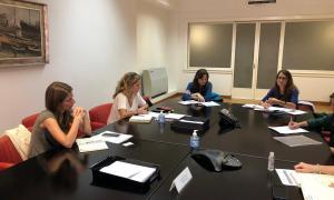 Las ministras se reunieron para formar un comité se seguimiento