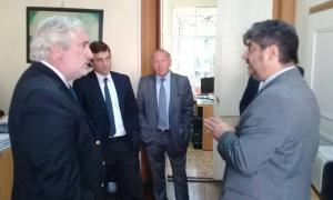 El Procurador Conte Grand se reunió con fiscales de la zona norte de la Provincia (Fotos: La Noticia 1)