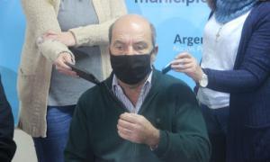 Ricardo Moccero dio una conferencia de prensa