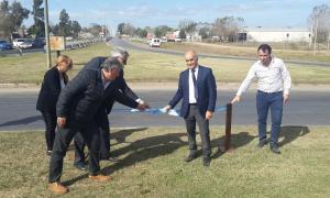 Provincia inauguró obras viales en Ruta 41 en Pila, Castelli y General Belgrano